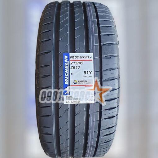 Lop Vo Xe Michelin 215 45R17 91Y Pilot Sport 4