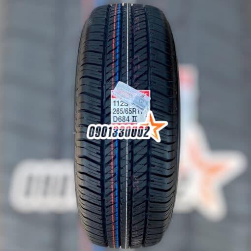 Lop Xe Bridgestone 265 65R17 112S Dueler H T 684