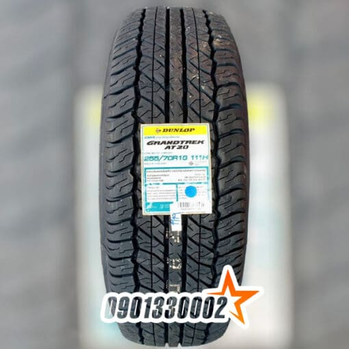 Dunlop 255 70R16 111H GRANDTREK AT20