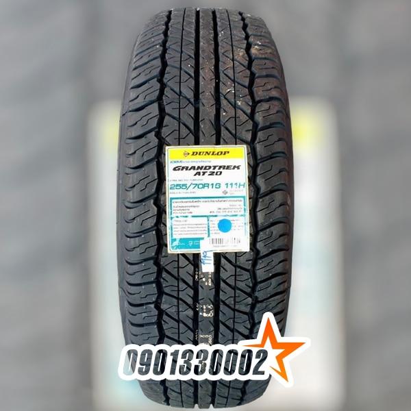 Lốp Dunlop 255/70R16 111H Grandtrek AT20