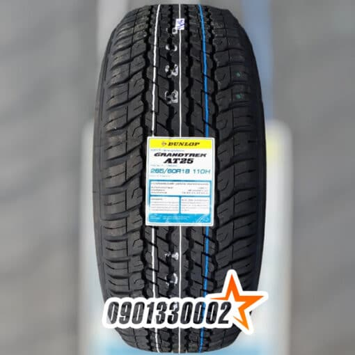 Dunlop 265 60R18 110H GRANDTREK AT25