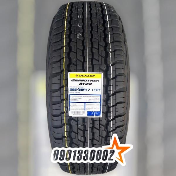 Lốp Dunlop 265/65R17 112T Grandtrek AT22