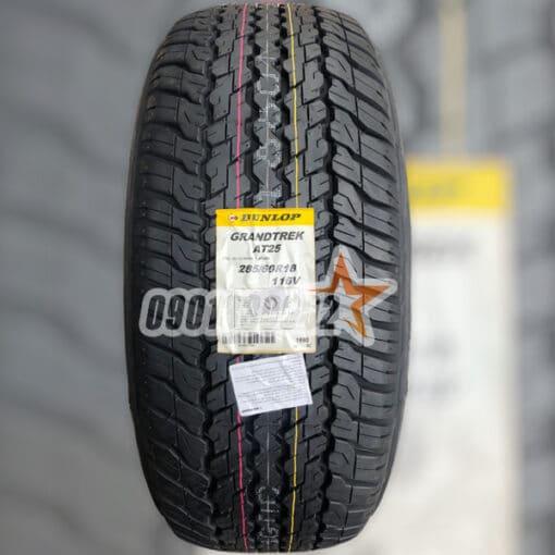 Lop Xe Dunlop 285 60R18 116V Grandtrek AT25