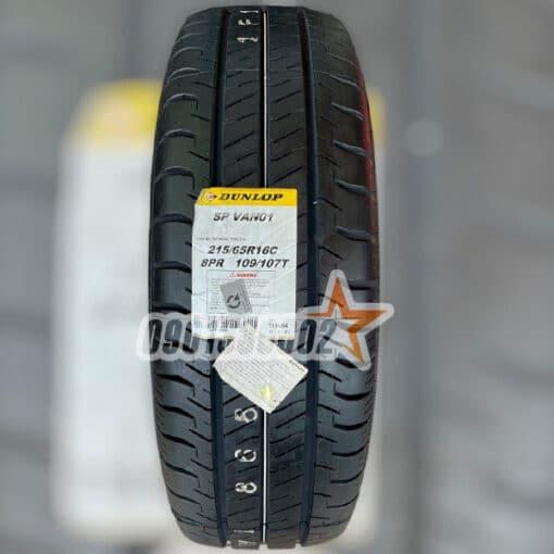Lop Xe Dunlop 215 65R16C 109T 8PR SP VAN01