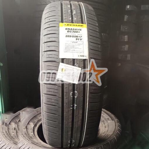 Lop Vo Xe Dunlop 205 55R17 91V Enasave EC300
