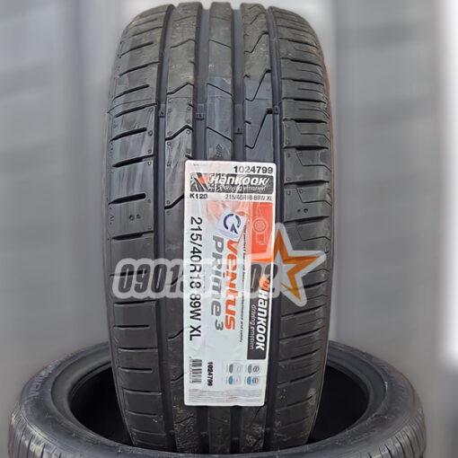 Lop Vo Xe Hankook 215 40R18 89W Ventus Prime 3