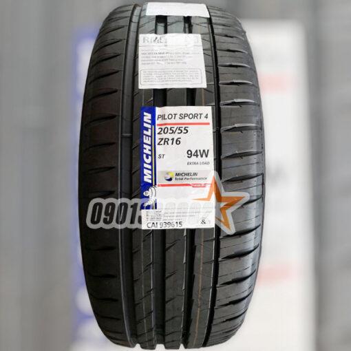 Lop Vo Xe Michelin 205 55R16 94W Pilot Sport 4