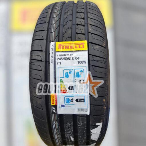 Lop Vo Xe Pirelli 245 50R18 100W Cinturato P7 Runflat